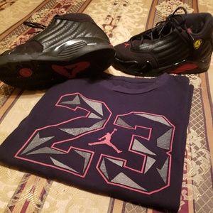 Jordan Shoes&Shirt